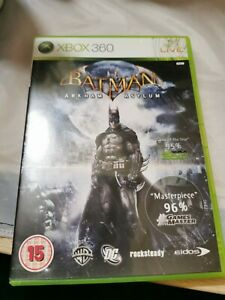 Batman-Arkham-Asylum-Xbox-360-Spiel-PAL-Komplett-mit-Handbuch