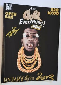 TRINIDAD-JAMES-Signed-Autographed-11x14-Photo-Hip-Hop-ALL-GOLD-EVERYTHING-COA-VD