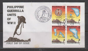 Philippine-Stamps-1994-Guerrilla-Units-of-World-War-II-Third-Series-Complete-s
