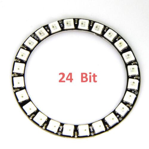 Integrated Drivers For Arduino M WS2812B 5050 RGB LED Ring 24Bit RGB LED