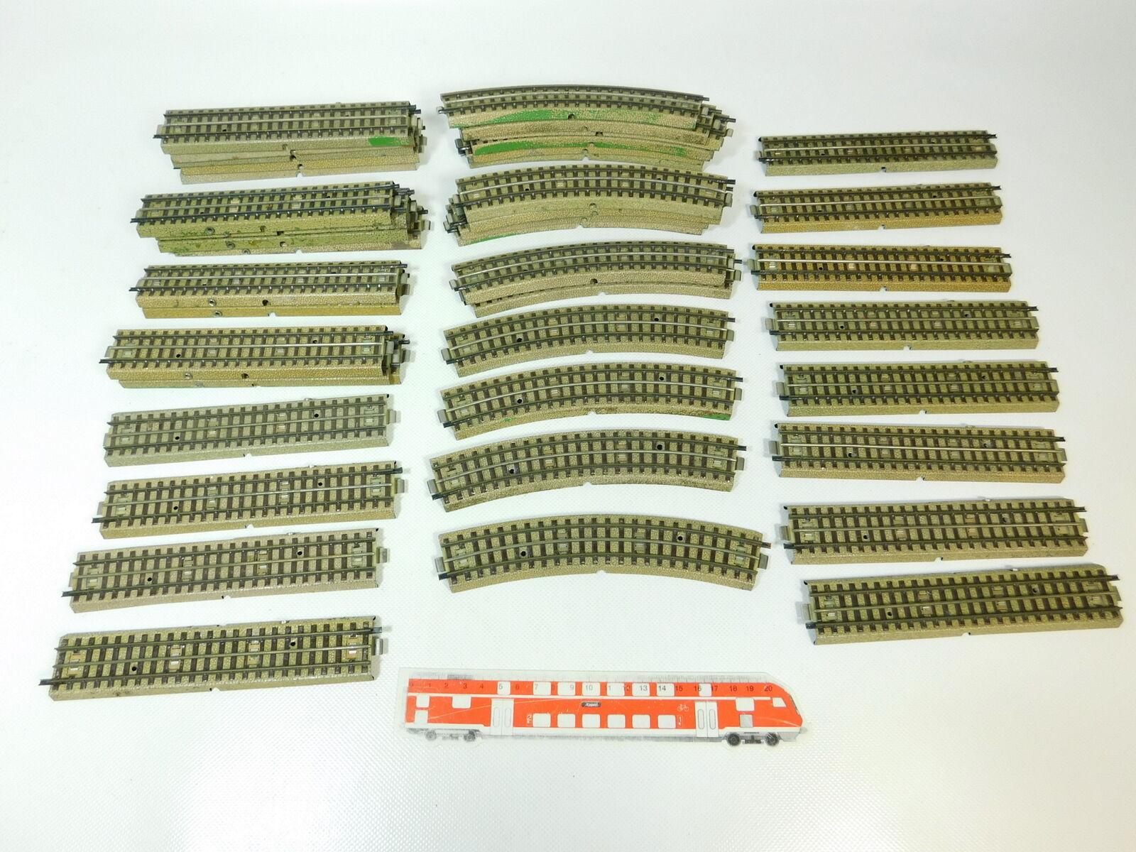 BQ300-3 x Märklin H0  00  Ac Piezas de vía ( M PISTA ) para 3600 800 Perfil