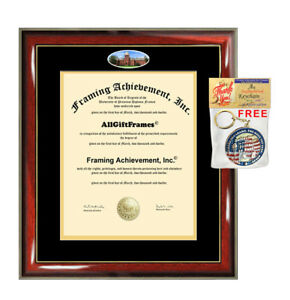 image is loading west virginia university diploma frame campus photo certificate - Wvu Diploma Frame