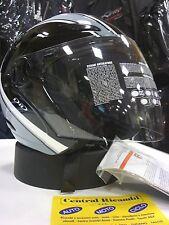 CASCO AGV PLANET STRIPES DARK S MOTORCYCLE HELMET HELM CASQUE AGV