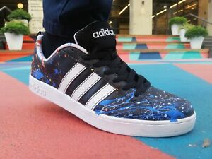 Details about Mens Adidas Original ,size 10, custom sneakers, graffiti sneakers.