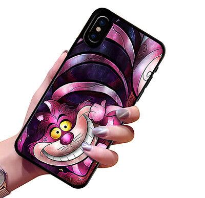 CUSTODIA COVER TPU BUMPER PER iPHONE 6 7 8 X XR XS 11 GATTO CHESHIRE STREGATTO   eBay
