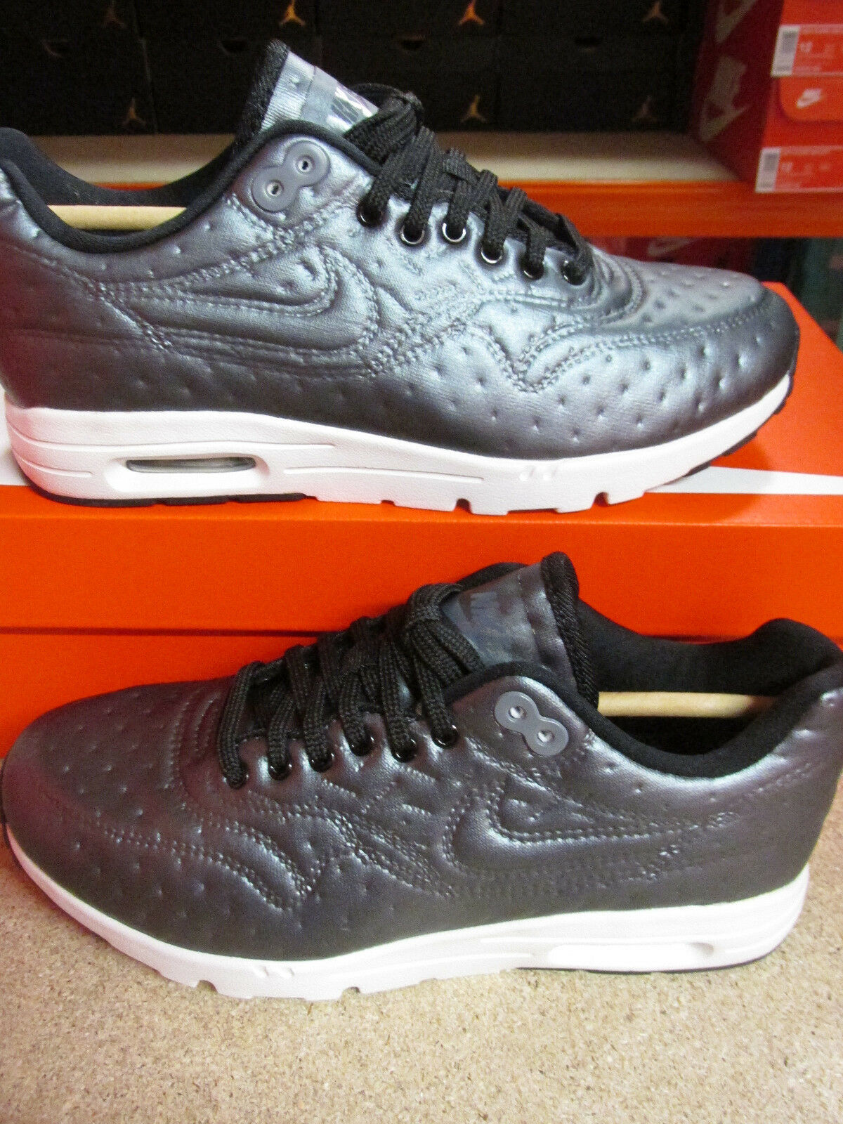 Nike Air Max 1 Ultra PRM JCRD Womens Running Trainers 861656 001 Sneakers Shoes