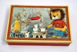 Titus Le Petit Lion Jeu 24 Cubes Ortf 1970 Jeu Garnier Cornil Melchior Bérénice