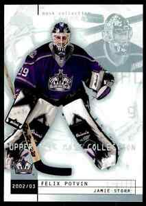 2002-03-Upper-Deck-Mask-Collection-Jamie-Storr-Felix-Potvin-39