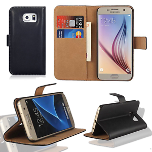Luxury-Leather-Flip-Case-Wallet-Cover-For-Samsung-Galaxy-Mobile-Phones