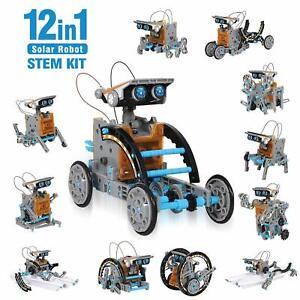 Ciro Solar Robot Kit 12 In 1 Educational Stem Learning ...