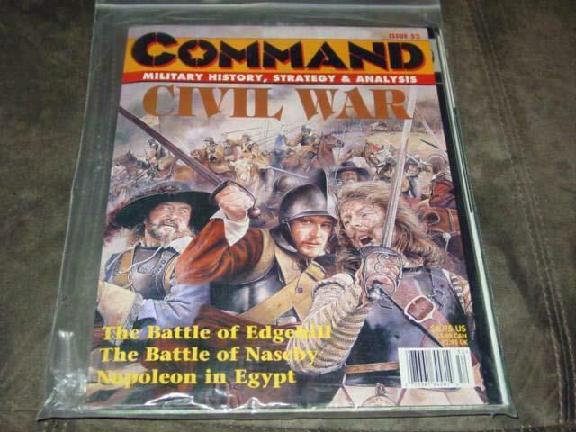 Command Magazine  52 - Civil War GRUNWALD 1410 & Battle Chess games (UNPUNCHED)