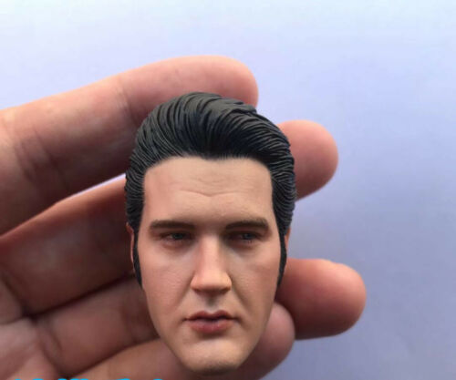 """1//6 Elvis Presley Head Sculpt For 12/"""" Male Toys"""