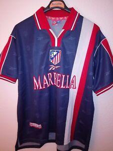 REEBOK-vtg-Atletico-de-Madrid-1998-1999-soccer-camiseta-vintage-trikot-shirt-90s