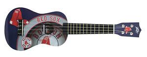Peavey MLB Boston Red Sox Logo Major League Baseball Ukulele Instrument New