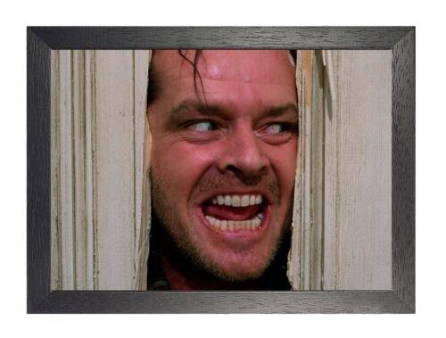 The Shinning  Stephen King/'s Horror Film Poster Nicholson Movie Star Scary Photo