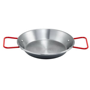 Winco-Polished-Carbon-Steel-Paella-Pan-With-Riveted-Handle-Made-in-Spain