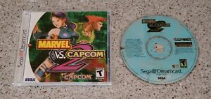Marvel-vs-Capcom-2-II-ii-Sega-Dreamcast-Game-CD-Complete-CIB-Case-Manual-Lot