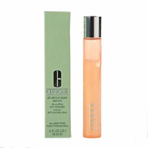 Clinique Eye Serum All About Eyes De Puffing Eye Massage Roll On 15ml Brand New Ebay