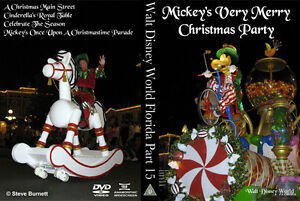 Walt-Disney-World-Florida-Part-15-Mickey-039-s-Very-Merry-Christmas-Party-DVD-BD