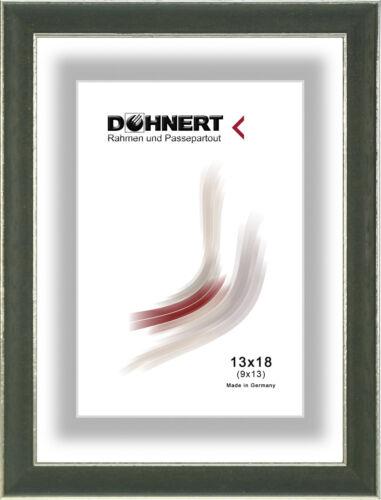 Kirsch,Rot Weiß Bilderrahmen Holz mit Normalglas Klassisch Leiste 146 in Braun