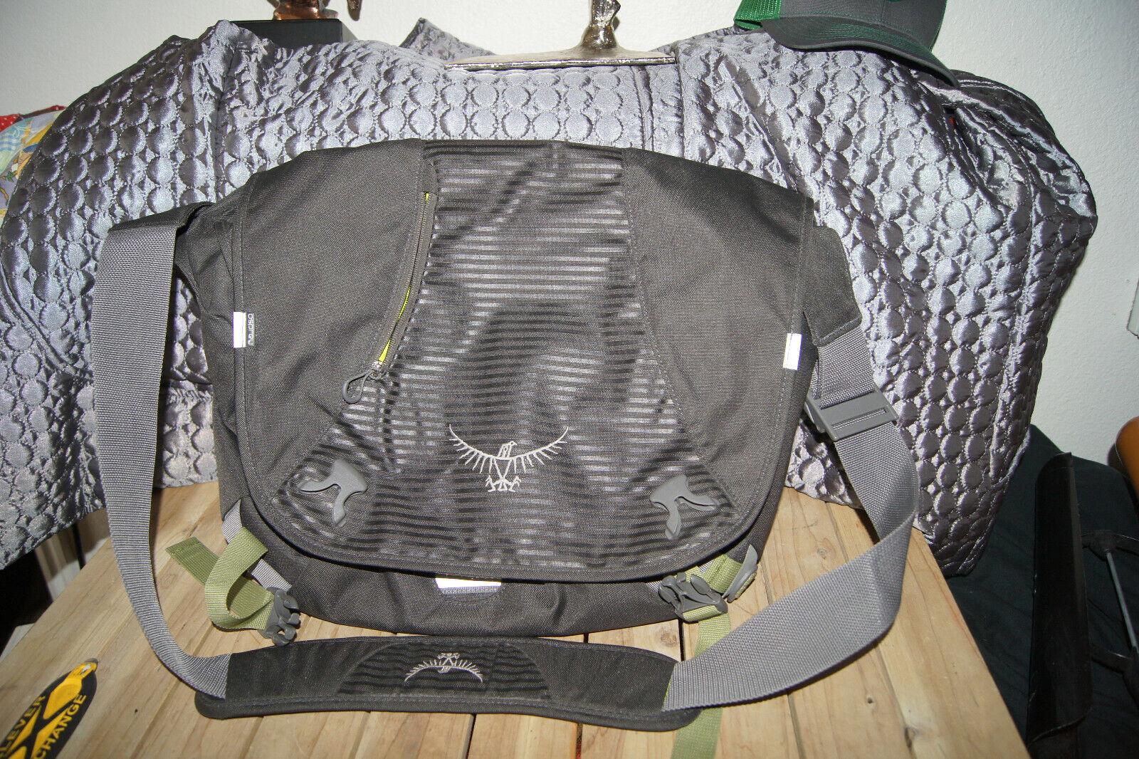 Osprey Messenger Bag 20 X 15 X 4 Osprey Gear Bolsa Bolsa De Viaje Bolsa De Pesca Osprey