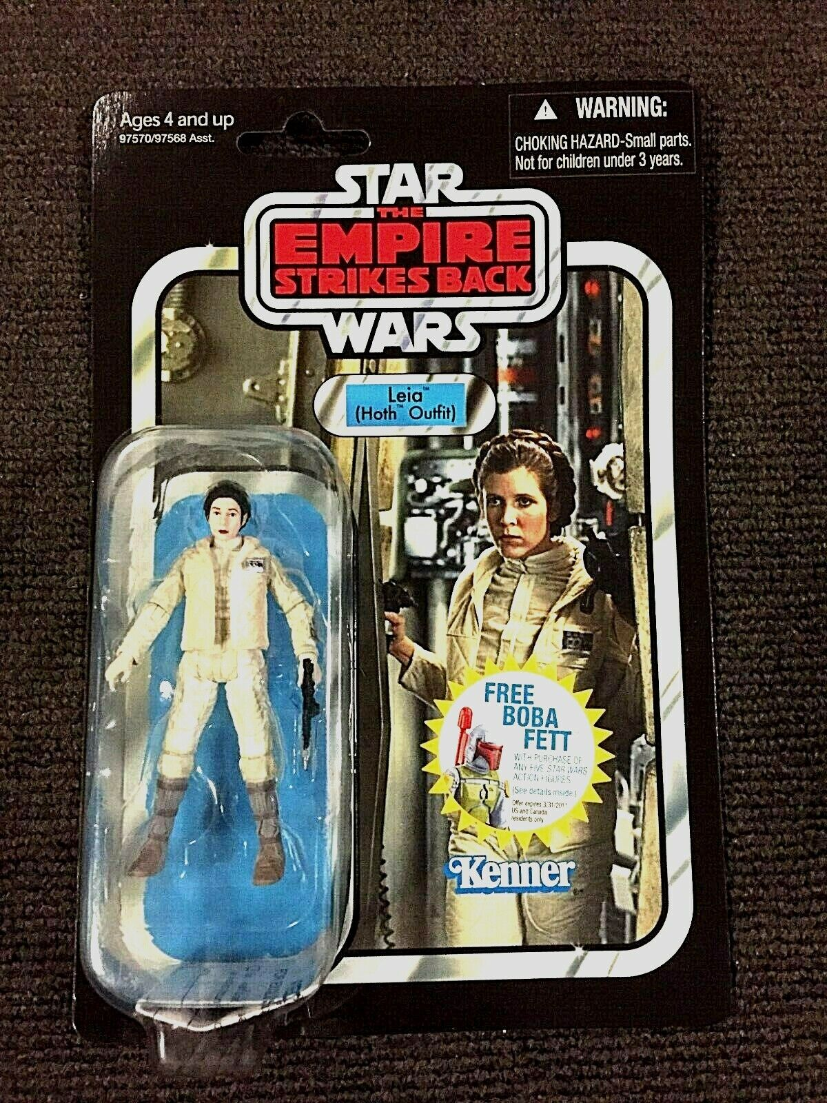 Princess Leia Hoth Outfit Star Wars Vintage Collection VC02 Action Figure VGC