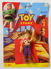 VINTAGE! STILL SEALED! 1995 Thinkway Toys Toy Story Bendable Woody