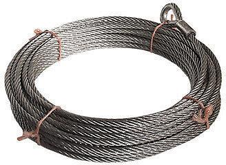 Seilbahn - Tragseil 25 m Zubehör Stahlseil verzinkt DIN EN1176