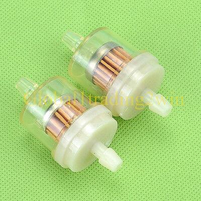 """5x Honda ATV Motorcycle Inline GAS Carburetor Fuel Filter 1//4/"""" 6mm-7mm ENGINE Y2"""