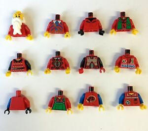 Lego-Minifig-Oberkoerper-Torso-mit-Armen-973-viele-Farben-Auswahl-gebraucht-D-6