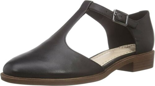 Black 5 Reino Palm 5 41 Bar Leather Zapatos Taylor Nuevo Clarks Unido 7 Tamaño T casuales RSxZwtq