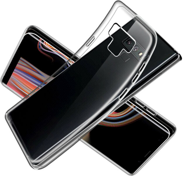 93d32b135cc55d SDTEK Gel Case for Samsung Galaxy Note9 Soft Silicone Transparent Clear