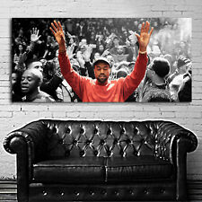 Poster Mural Kanye West Madison Square Garden 24x52 inch (62x132 cm) on Canvas