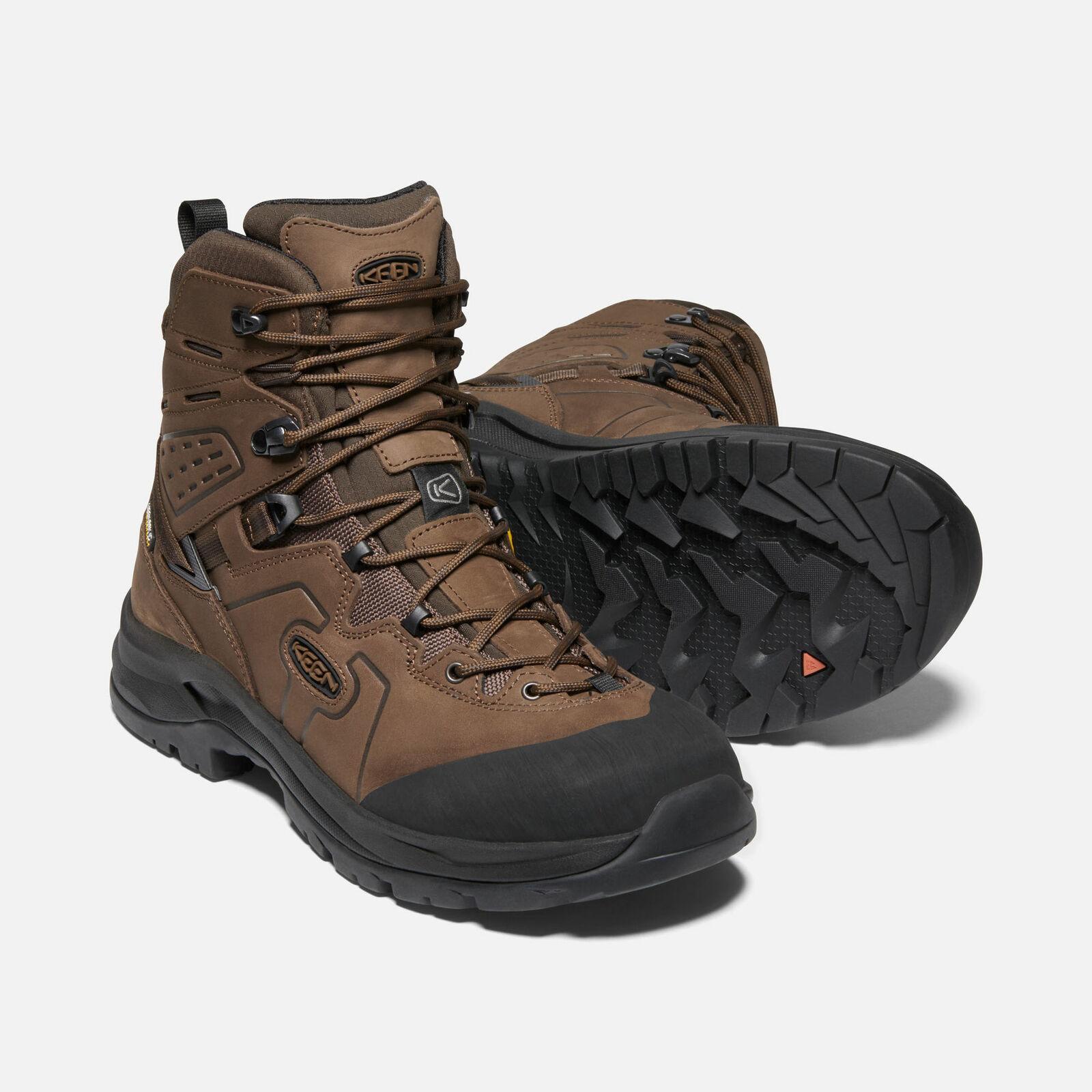 Keen Men's Karraig WP Walking Boots (Dark Earth Raven)