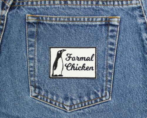Penguin =Formal Chicken Patch Penguin Patch Funny Animal Patch Animal Aliases