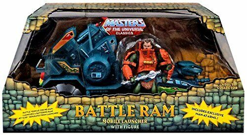 Masters of the Universe MOTU Classics Classics Classics BATTLE RAM w  Man-At-Arms Figure NEW bbe9a1