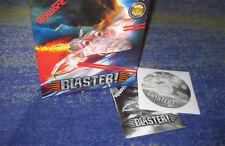 BLASTER PC Klassiker BIG BOX Erstausgabe mit Handbuch Shoot-Em-Up wie R-Type