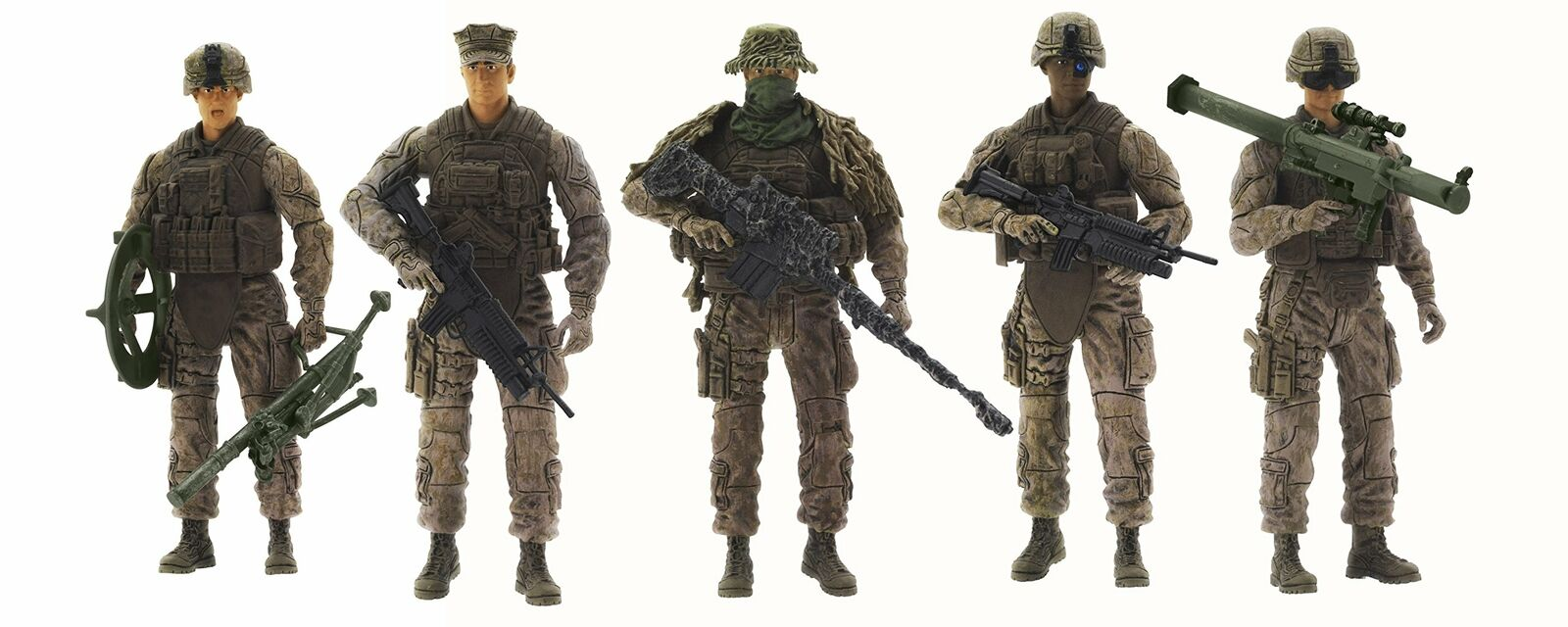Elite Force Marine Recon Action Figure 118 Scale 5 5 5 Soldier Action Figures New c83a17