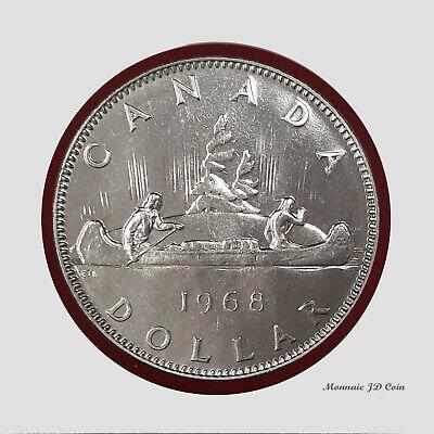 1968 Canada Nickel One Dollar Canadian $1 Circulated WOW!!