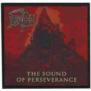 Death-Sound-Of-Perseverence-Official-Woven-Patch-Death-Metal-New