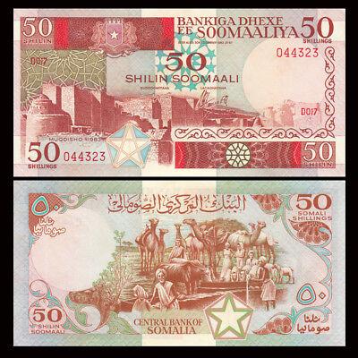 Somalia 50 Shillings P-34a A-UNC 1983
