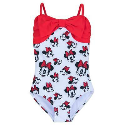 Disney Mickey and Minnie Mouse Summer Fun Swimsuit for Girls Multi