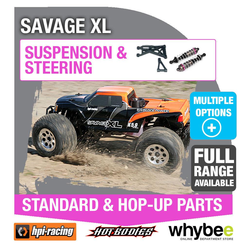 HPI Savage XL [Sterzo & Sospensione] Genuine HPI RACING R/C STANDARD/HOP-UP
