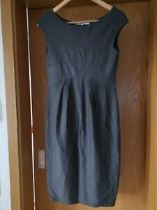 The Swiss Label Damen Kleid Gr 38 Grau Midi Ebay