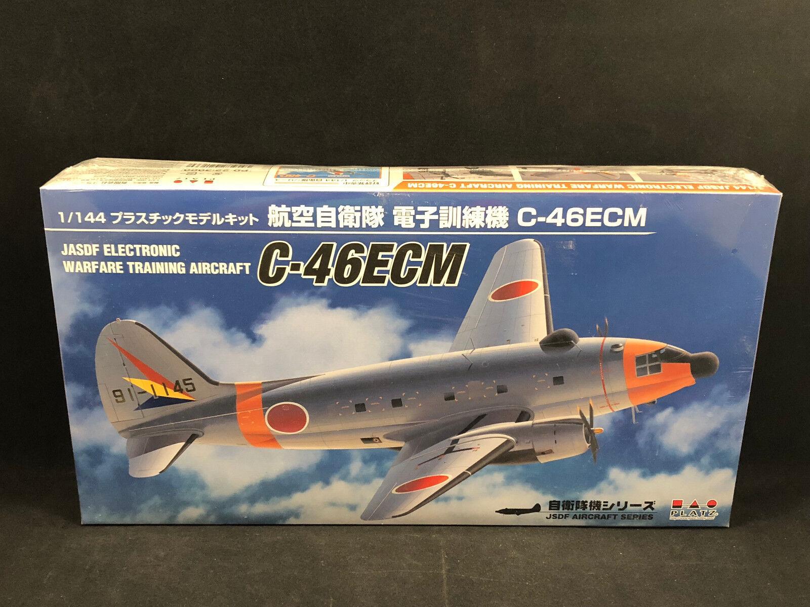 Platz C-46ECM JASDF Training Aircraft 1 144 Scale Plastic Model Kit PD-22 NIB