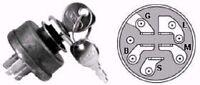 Ignition / Starter Key Switch For Ayp Sears Craftsman Roper 158913