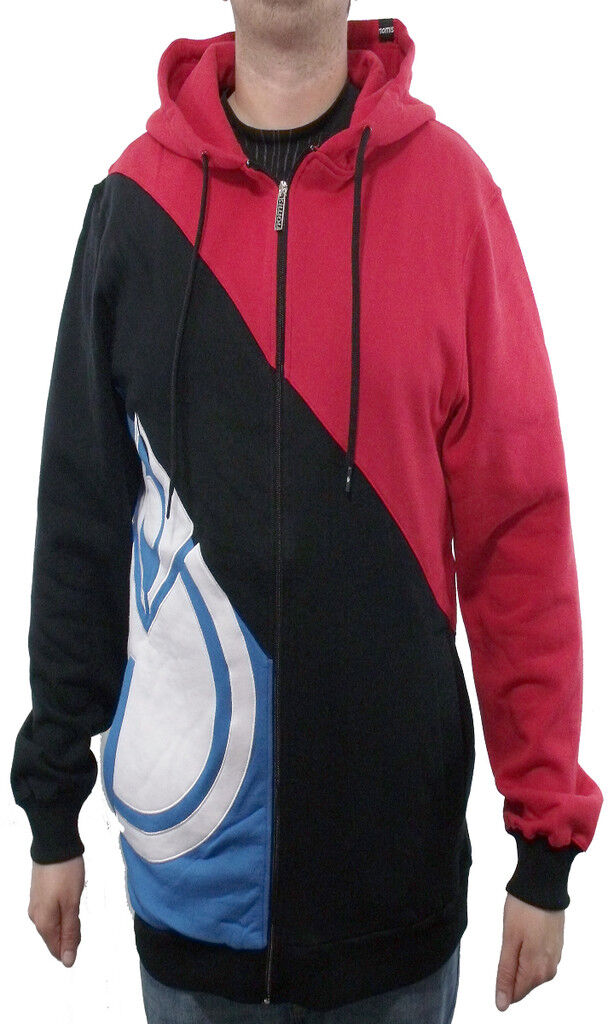 BRAND NEW WITH TAGS Nomis DIAGONAL ICON Hoodie CRIMSON LARGE-XLT LIMITED RELEASE
