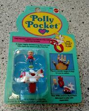 POLLY POCKET WEE WILLIE'S STUNT PLANE ON CARD MATTEL POCKET SIZED RESEALED