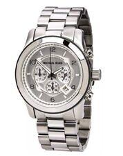 36767802623c item 2 MICHAEL KORS MK8086 Oversized Runway Silver Tone Chronograph Men s  Wrist Watch -MICHAEL KORS MK8086 Oversized Runway Silver Tone Chronograph  Men s ...