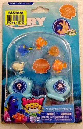 Finding Dory Squishy Pops Disney Pixar Play Conjunto de 7 piezas de juguetes infantiles serie 1